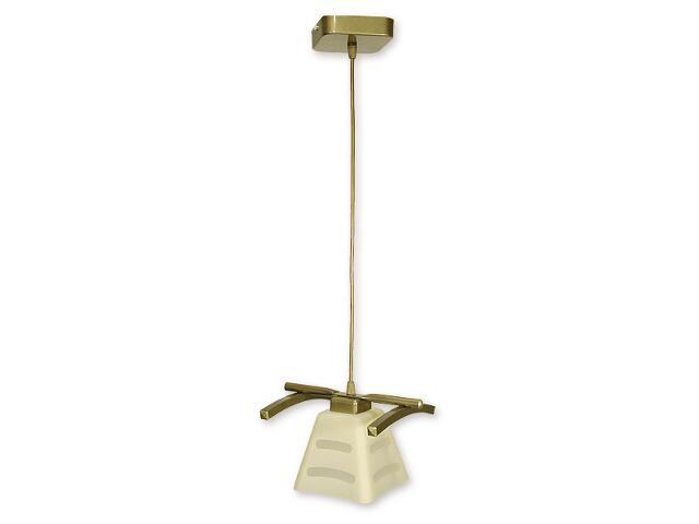 Lampa wisząca Dipol zwis 1-płomienny oliwka metalik O1417 OLM Lemir