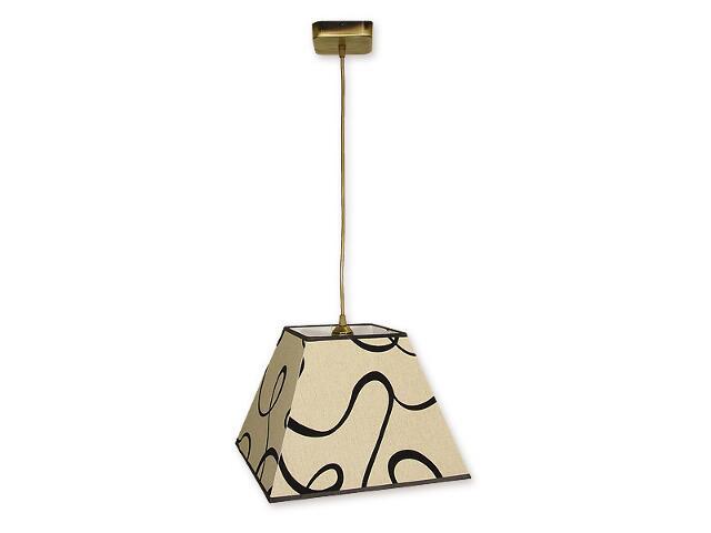 Lampa wisząca Horus zwis 1-płomienny patyna O1367 PAT Lemir