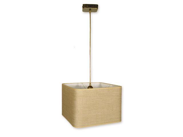 Lampa wisząca Helion zwis 1-płomienny oliwka złoto O1377 OLZ Lemir
