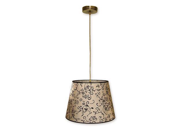 Lampa wisząca Miles zwis 1-płomienny patyna O1387 PAT Lemir