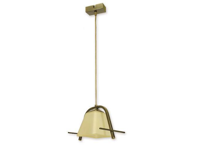 Lampa wisząca Agi zwis 1-płomienny oliwka metalik O1437 OLM Lemir