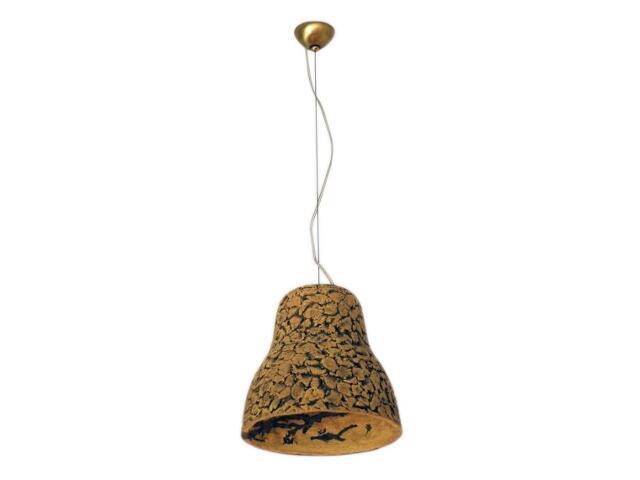 Lampa sufitowa DZWON ciemny szamot 1731 Cleoni