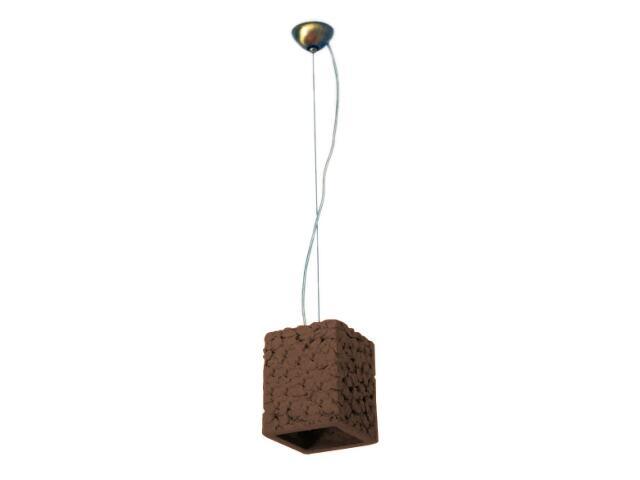 Lampa sufitowa TUBA ciemny szamot 1741 Cleoni