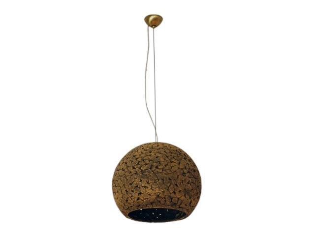 Lampa sufitowa KULA 3/4 200mm ciemny szamot ażurowy 1753 Cleoni