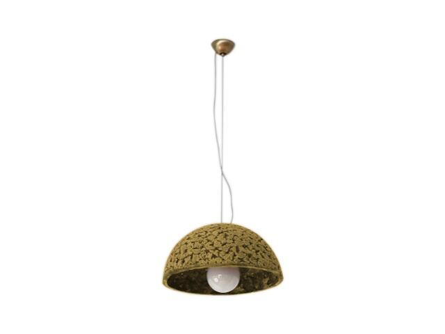 Lampa sufitowa KULA 3/4 320mm jasny szamot 1764 Cleoni