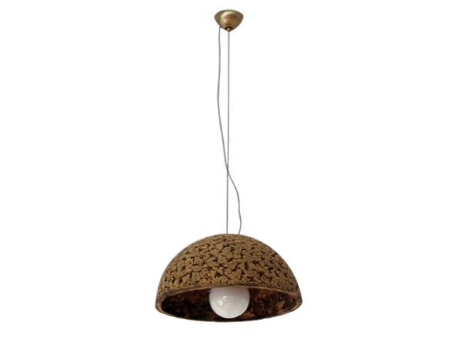 Lampa sufitowa KULA 3/4 320mm ciemny szamot 1765 Cleoni