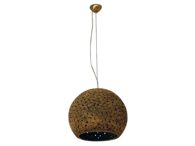 Lampa sufitowa KULA 3/4 320mm ciemny szamot ażurowy 1767 Cleoni