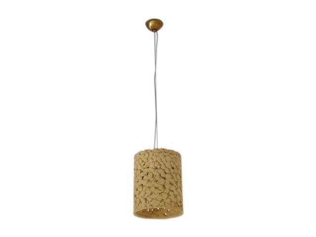 Lampa sufitowa WALEC jasny szamot ażurowy 1792 Cleoni