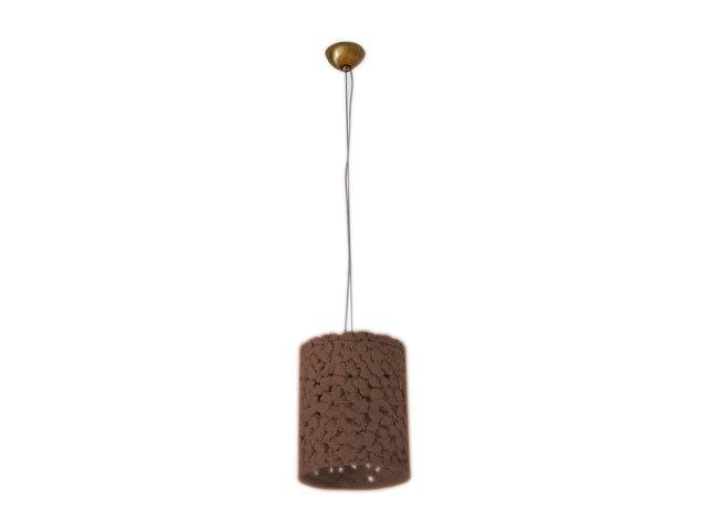 Lampa sufitowa WALEC ciemny szamot ażurowy 1793 Cleoni