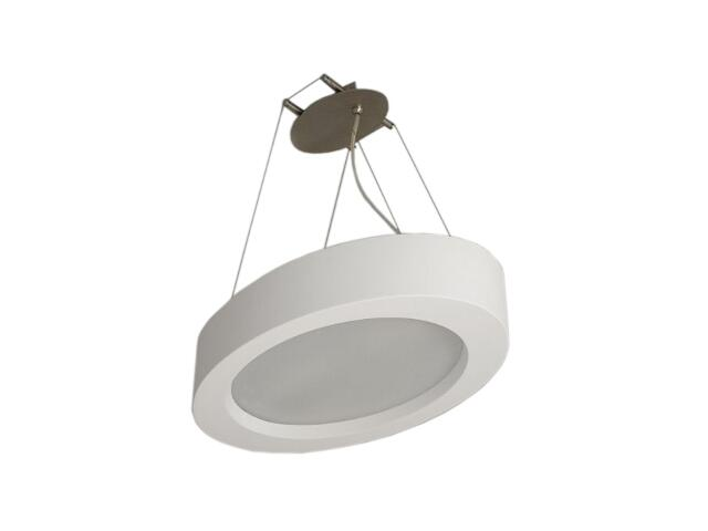 Lampa sufitowa PETRO elipsa biała 1809 Cleoni