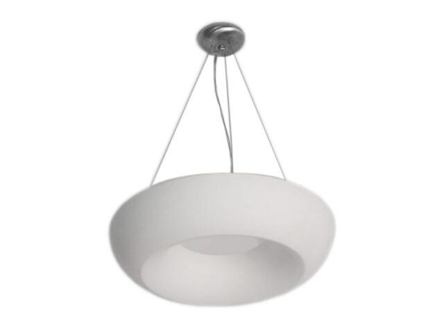 Lampa sufitowa ROMA I koło biała 1810 Cleoni