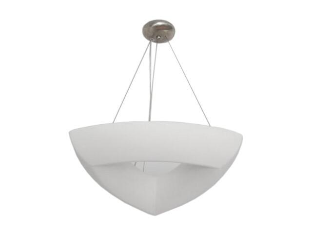 Lampa sufitowa ROMA III trójkątna biała 1857 Cleoni
