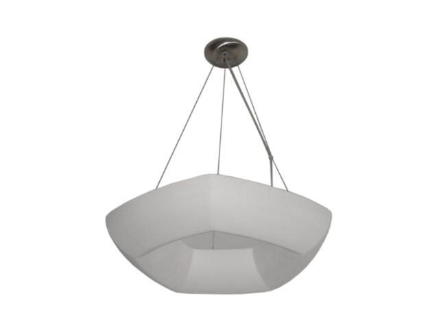 Lampa sufitowa ROMA V pięciokątna biała 1859 Cleoni