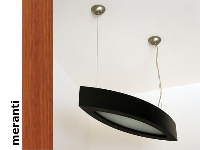 Lampa sufitowa NOLA 60 średnia meranti 3500W1E203 Cleoni