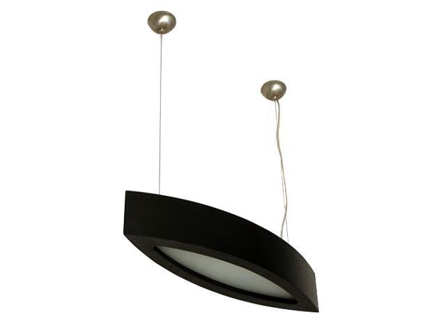 Lampa sufitowa NOLA 60 średnia wenge 3500W1E204 Cleoni