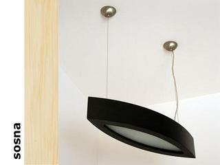 Lampa sufitowa NOLA 90 duża sosna 3500W2P201 Cleoni