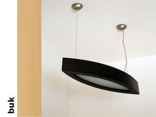 Lampa sufitowa NOLA 90 duża buk 3500W2P202 Cleoni