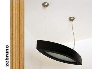 Lampa sufitowa NOLA 90 zebrano 3500W2P205 Cleoni