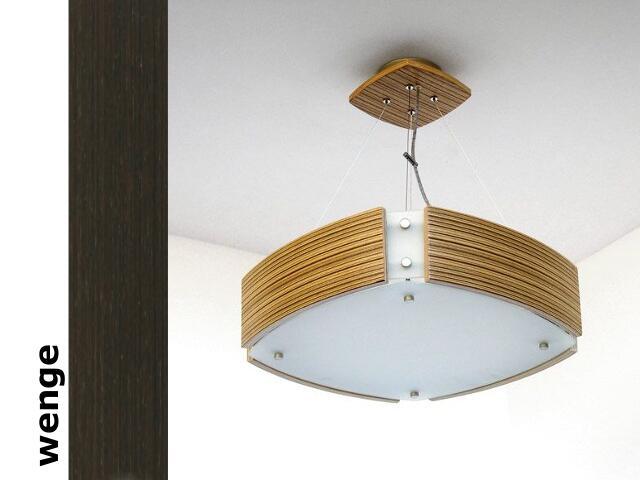 Lampa sufitowa ATLANTIC IV duża wenge 1208WS4204 Cleoni