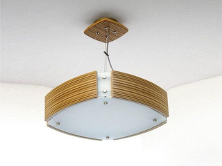 Lampa sufitowa ATLANTIC IV duża zebrano 1208WS4205 Cleoni