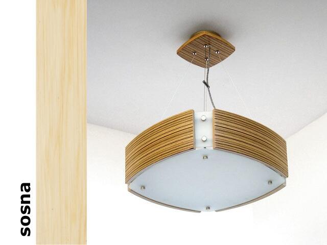 Lampa sufitowa ATLANTIC IV średnia sosna 1208WM4201 Cleoni