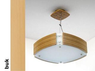 Lampa sufitowa ATLANTIC IV średnia buk 1208WM4202 Cleoni