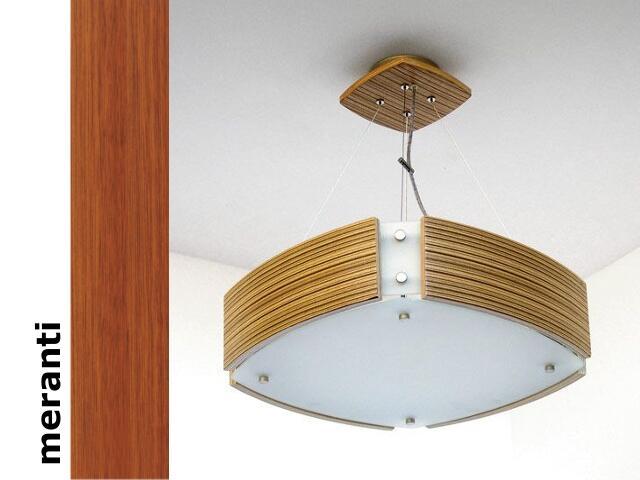 Lampa sufitowa ATLANTIC IV średnia meranti 1208WM4203 Cleoni