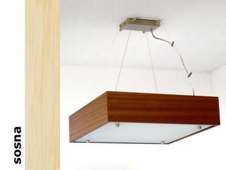 Lampa sufitowa CALYPSO duża sosna 1206W1D201 Cleoni