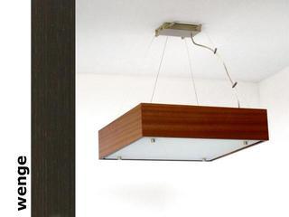 Lampa sufitowa CALYPSO duża wenge 1206W1D204 Cleoni