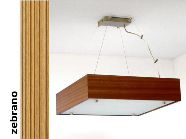 Lampa sufitowa CALYPSO duża zebrano 1206W1D205 Cleoni