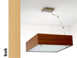 Lampa sufitowa CALYPSO średnia buk 1206W1S202 Cleoni