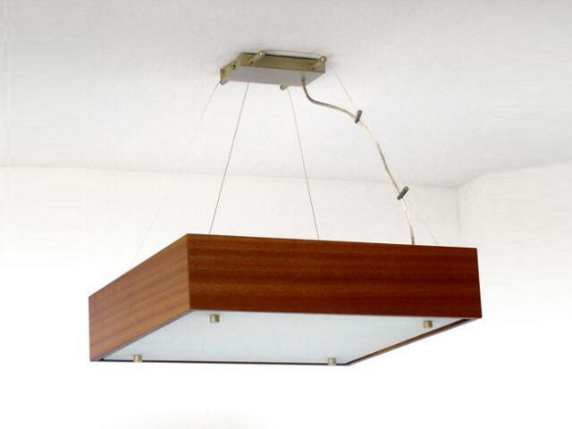 Lampa sufitowa CALYPSO mała meranti 1206W1M203 Cleoni