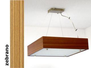 Lampa sufitowa CALYPSO mała zebrano 1206W1M205 Cleoni
