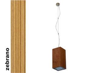 Lampa sufitowa TUBA średnia zebrano 1203W1S205 Cleoni