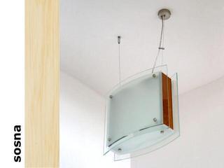 Lampa sufitowa CORDA II sosna 9550 Cleoni