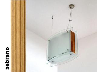 Lampa sufitowa CORDA II zebrano 9590 Cleoni