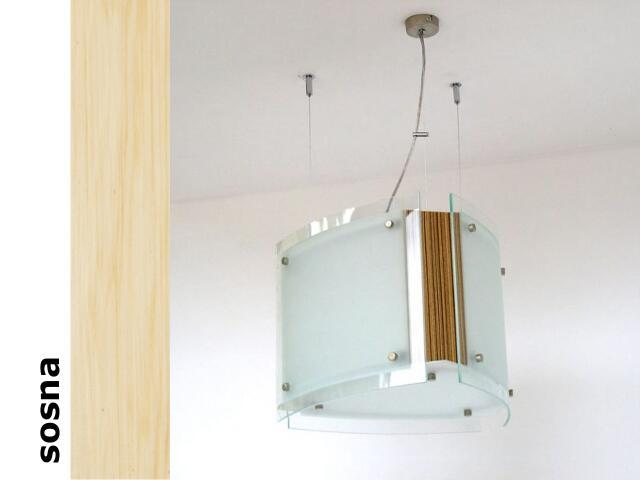 Lampa sufitowa CORDA III sosna 9600 Cleoni