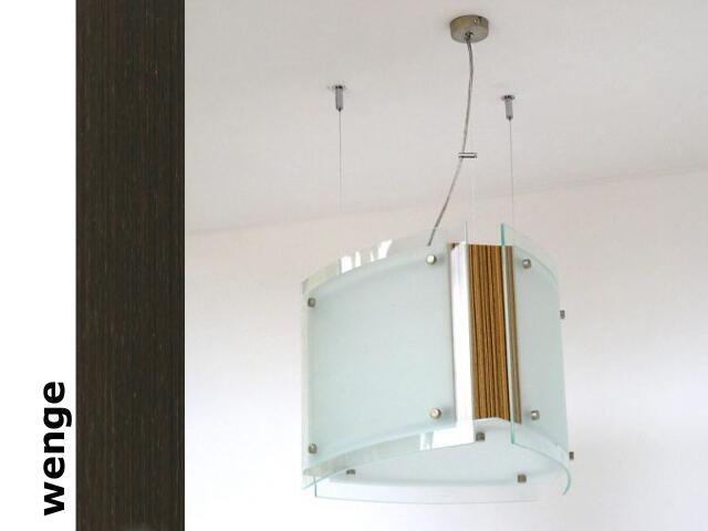 Lampa sufitowa CORDA III wenge 9630 Cleoni