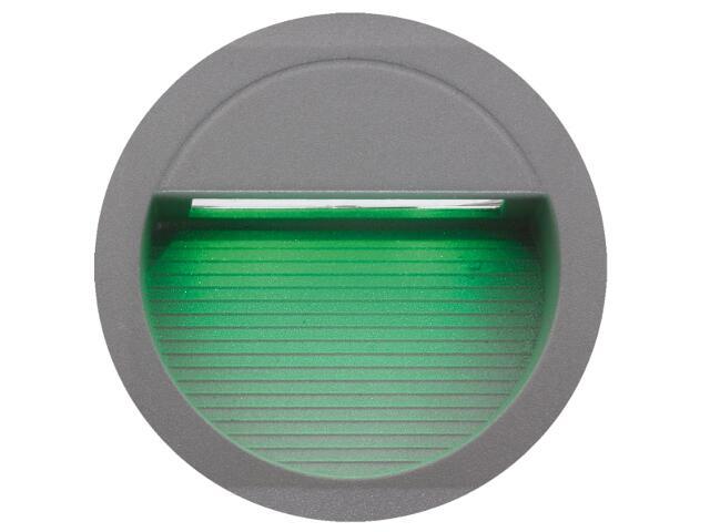 Oprawa punktowa schodowa BILEO LED A kolor światła zielony Lena Lighting