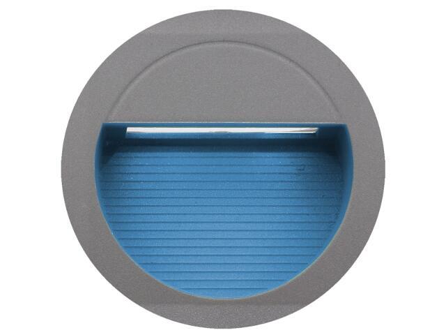 Oprawa punktowa schodowa BILEO LED A kolor światła niebieski Lena Lighting
