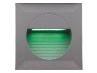 Oprawa punktowa schodowa BILEO LED B kolor światła zielony Lena Lighting