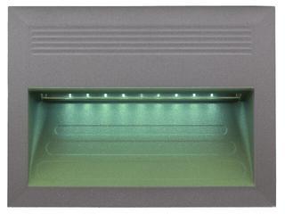 Oprawa punktowa schodowa BILEO LED E kolor światła zielony Lena Lighting