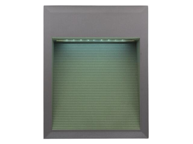 Oprawa punktowa schodowa BILEO LED F kolor światła zielony Lena Lighting