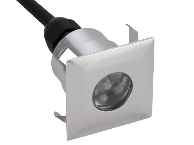 Oprawa punktowa schodowa DIMEL LED K 3/6-3 szt w komplecie kolor światła zielony Lena Lighting