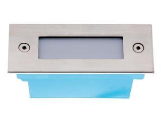 Oprawa punktowa schodowa DIMEL LED P 3/6-3 szt w komplecie kolor światła biały Lena Lighting