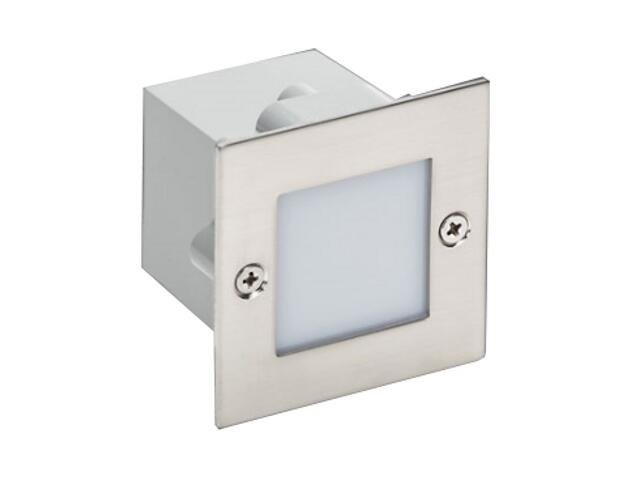 Oprawa punktowa schodowa DECOSQUARE 1 STAL LED akcentująca Sanneli Design