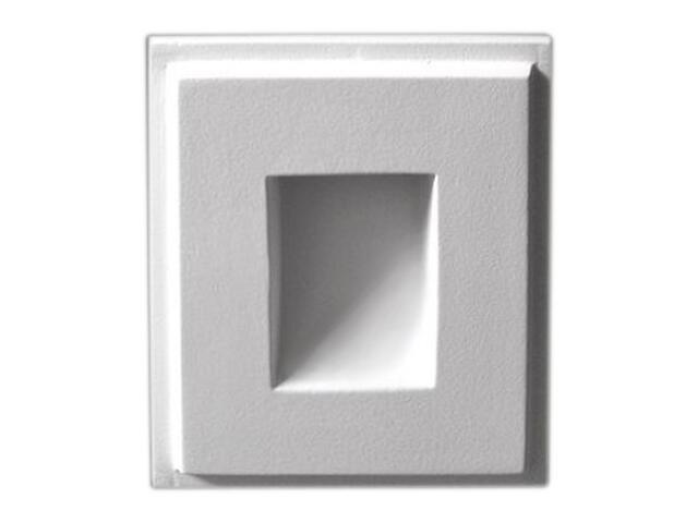 Oprawa punktowa schodowa SOL II LED biała 1211A2406 Cleoni