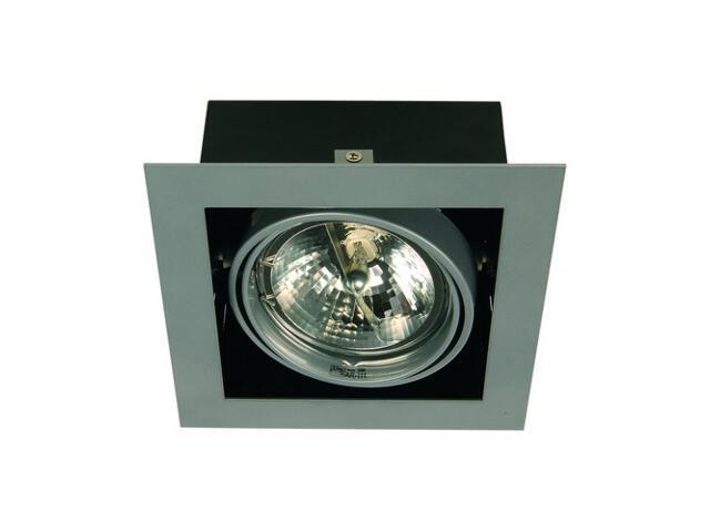 Lampa sufitowa EQUAN 11K 1x50W biała, bez źródła światła Elgo