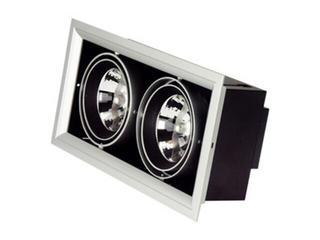 Lampa sufitowa wbudowywana 2x50W G53 NDL 502 szara ANS