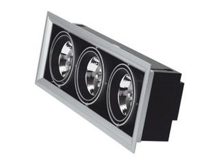 Lampa sufitowa wbudowywana 3x50W G53 NDL 503 szara ANS
